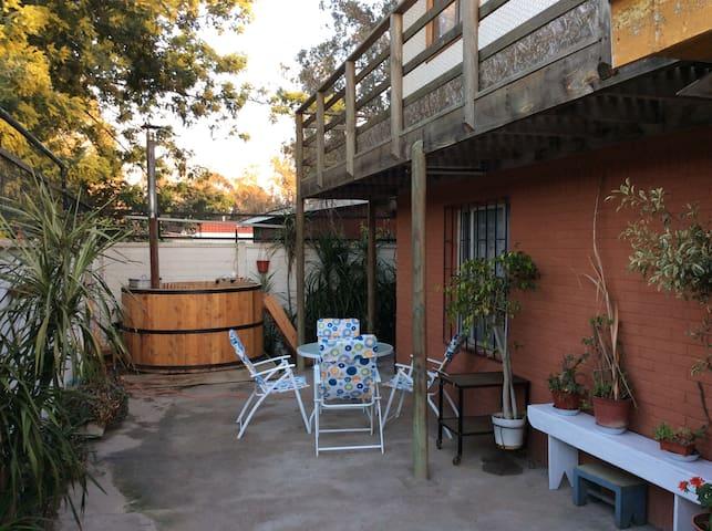 Casa tortuga, el Canelo Algarrobo