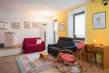 Ampio appartamento nuovo per vacanze in montagna