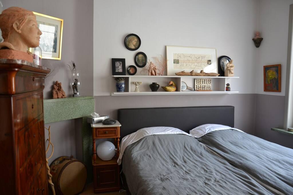 slaapkamer op de eerste verdieping