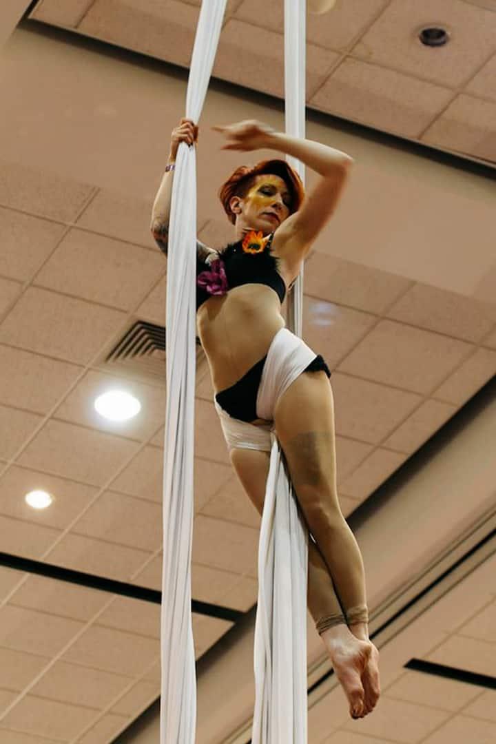 Leah performing at CCC