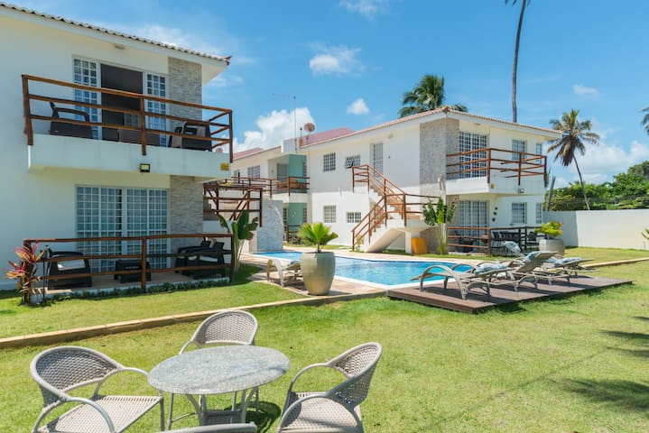 BEACH OASIS- Beacfront Condo - Ilha de Itamaracá - Appartement