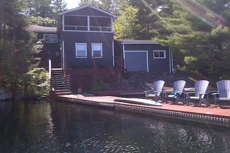 Six Mile Lake Cottage on Waterfront - Port Severn - 小木屋