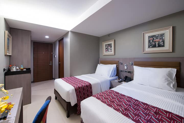 Twin Room for Long Stays