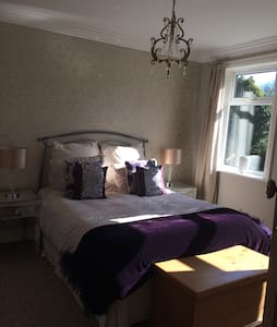 Lovely double room with garden view - Little Weighton - Bed & Breakfast