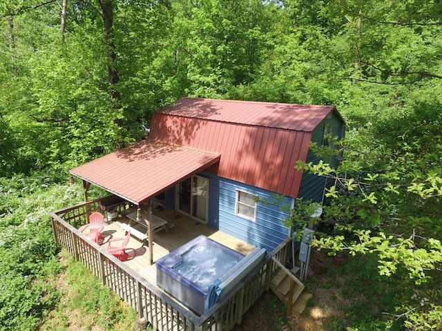 THE SHED ! 16 miles to Chattanooga, in the woods - Wildwood - Stuga