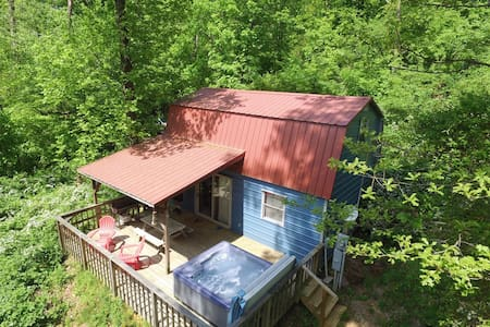 THE SHED ! 16 miles to Chattanooga, in the woods - Kulübe
