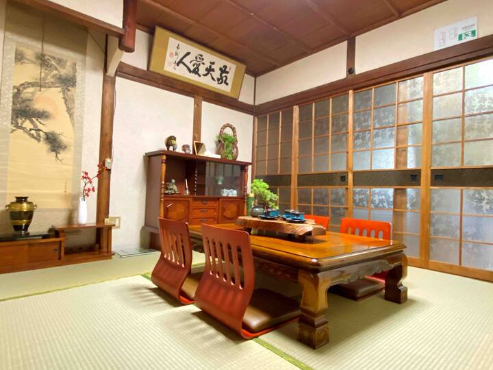 ❤️2min Tamatsukuri Station(玉造)Janpanese-style villa