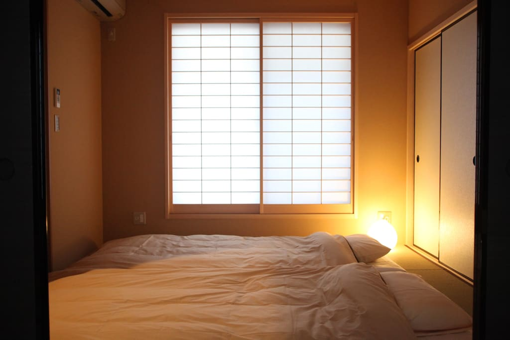 First Bed room with 2Futon