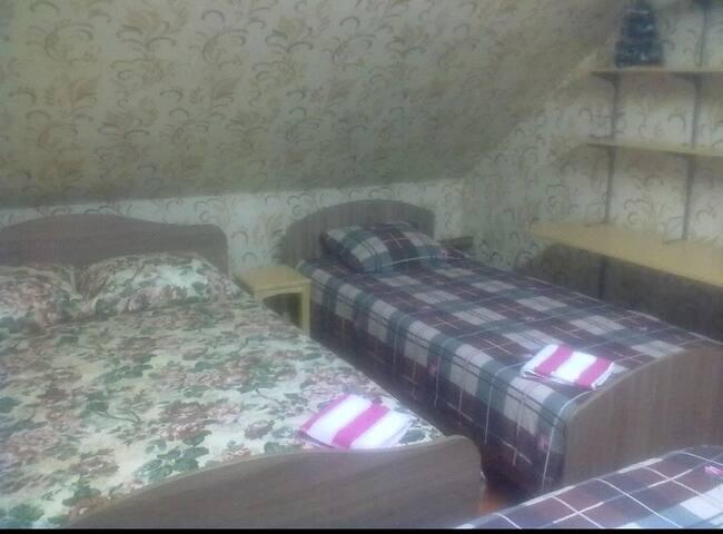 Уютные комнаты в коттедже