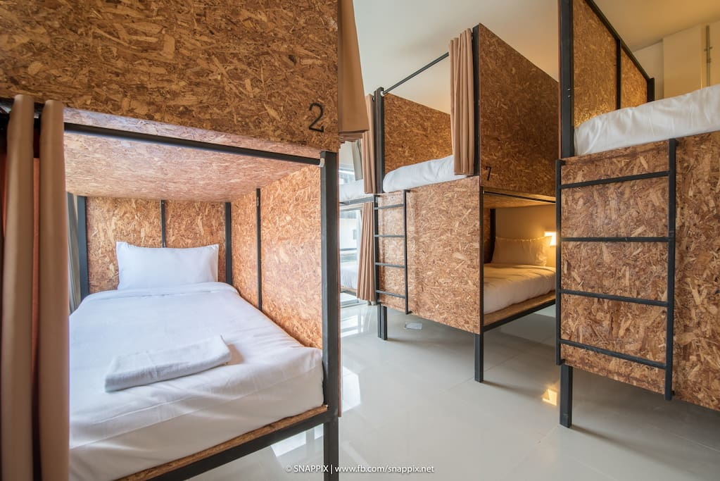 Single bed in dorm