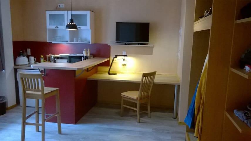Komfort Studio 5 zwischen Karlsruhe und Pforzheim - Remchingen - Apartment