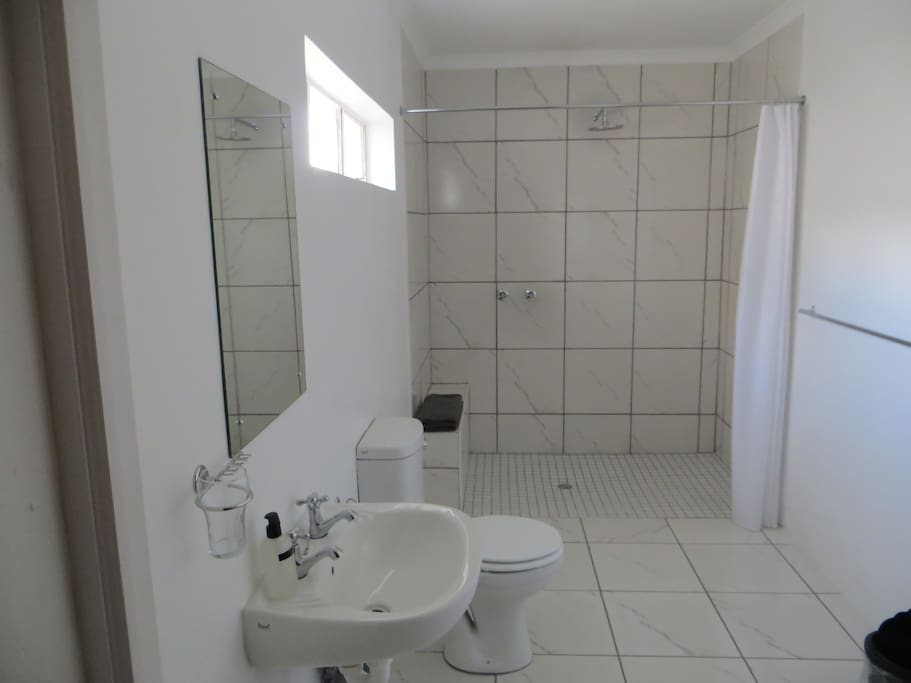 All bathrooms standard - clean and spacious
