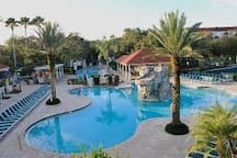 Pool With Island