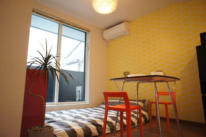 Brand New Studio Apartment in Shinagawa