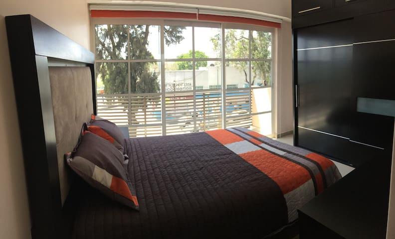 Nice bedroom for you, 7 MINUTES TO CDMX AIRPORT - Ciudad de México - Apartment