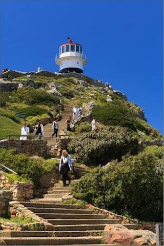 Cape Point and Cape of Good Hope the most South-western point on the African continent is 40 minute drive away!