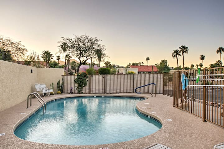 NEW! Lovely 2BR Fountain Hills Condo w/Comm. Pool!