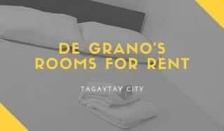 Tagaytay City Budget Rooms for Rent - Room 1