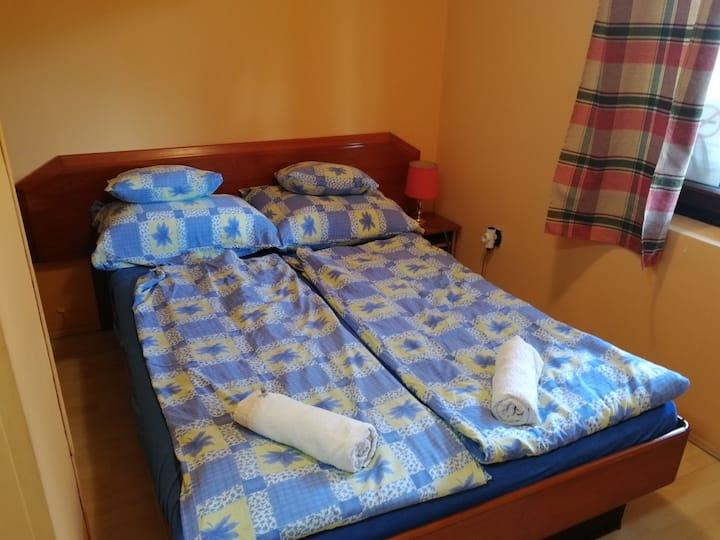 2 személyes fürdőszobás szoba Balatonbogláron