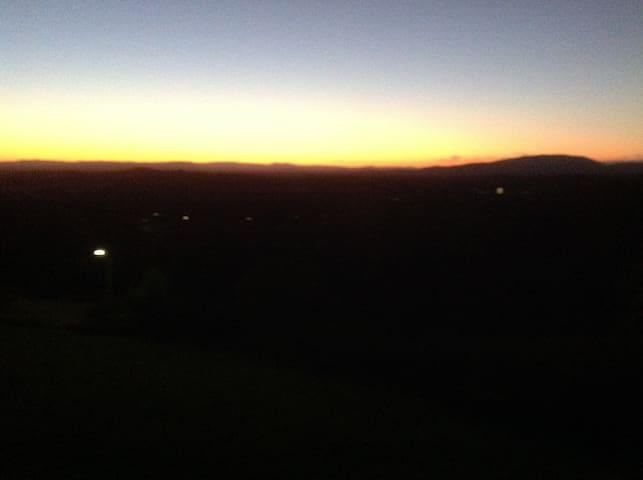 Sunset at Tallwoods