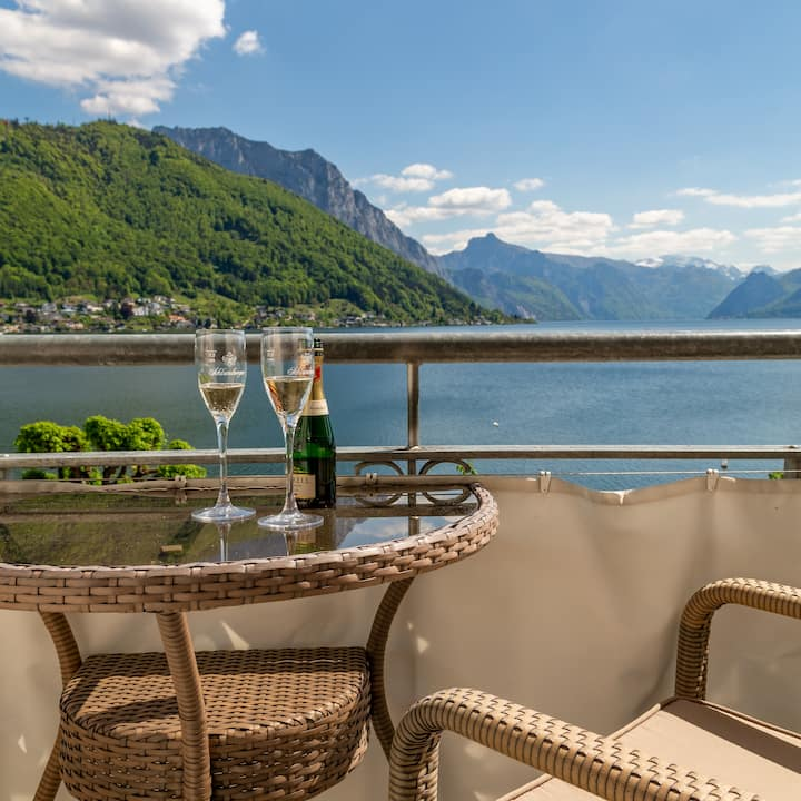 Panorama Loft direkt am Traunsee