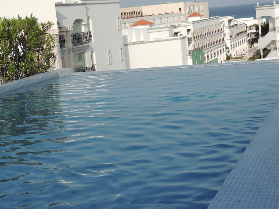 Roof top infinity pool (shared)