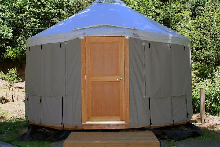 Upper Marina Yurt at Loon Lake Lodge