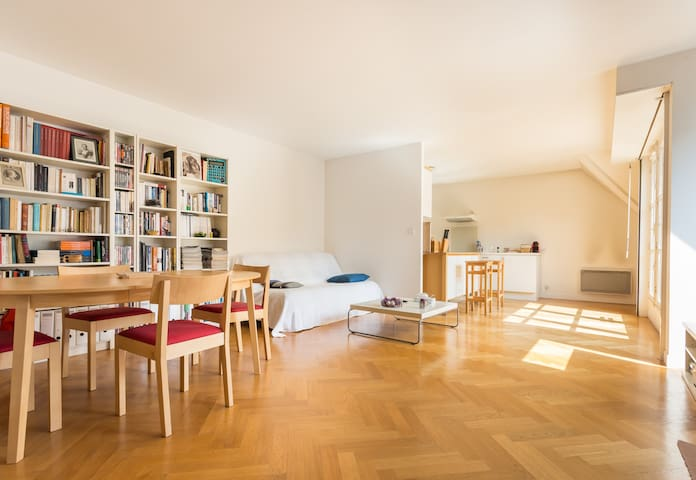 Quiet apt with parking near Palace - Versailles - Apartemen