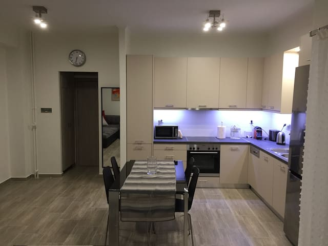 Superior Apartment above Sepolia Metro Station!!!! - Athina - Apartemen