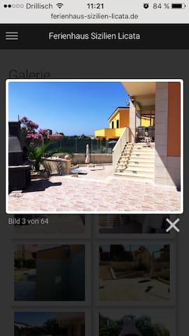 Villino Licata Beach - Licata - Huis
