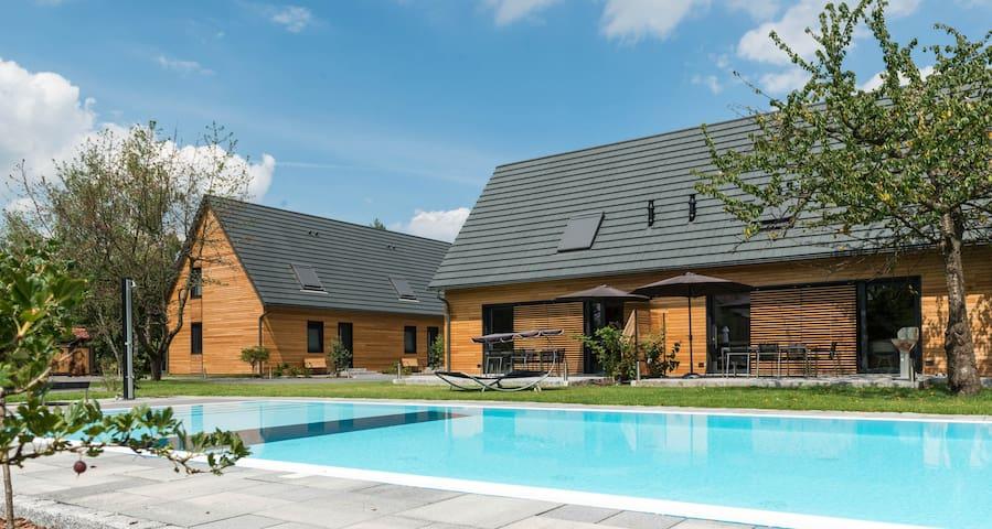 Ferienhaus Superior auf dem Kauperhof - Burg (Spreewald)
