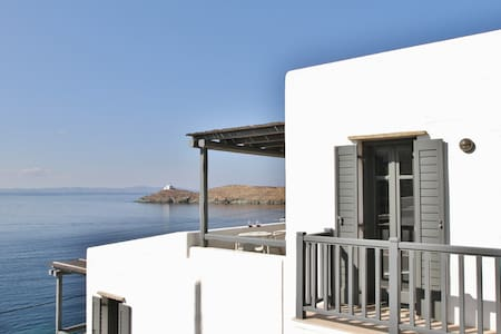 Central Cycladic Modern Maisonette - Kéa