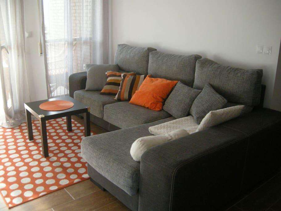 El salón naranja