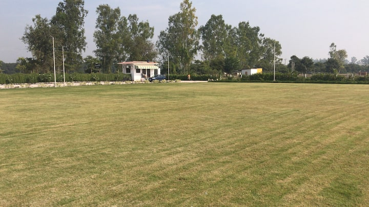 Aarambh lawns.In natures lap,far from the crowd.