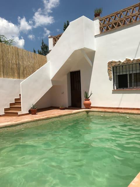 Landlig Aloe-hjem