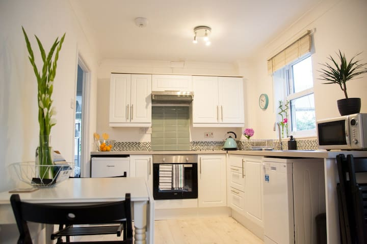 Bright Central 3 Bedroomed Falmouth Town  Flat
