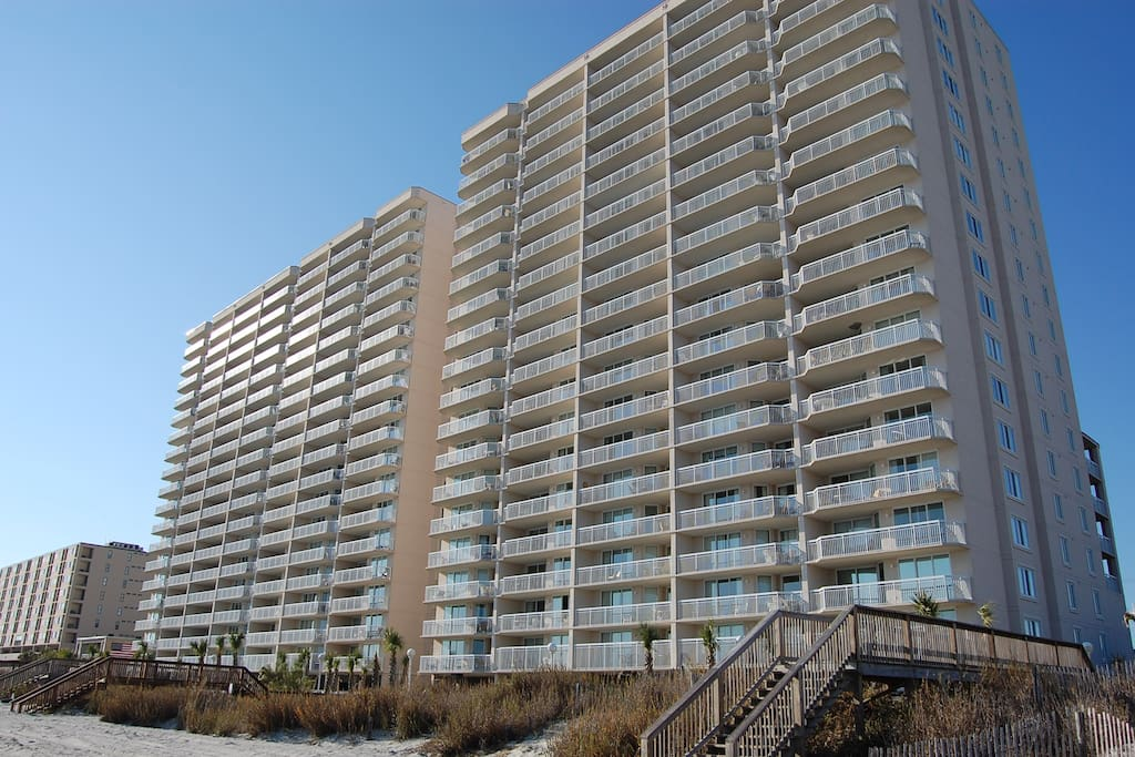 3 Bedroom Oceanfront Condo Condominiums For Rent In North Myrtle Beach South Carolina