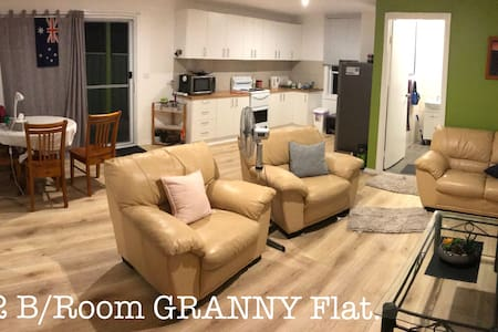 Small two bed room self contained unit