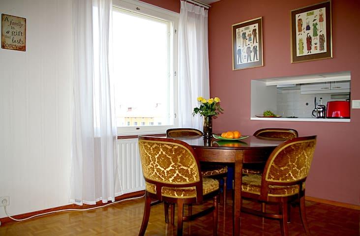 Cozy apartment, central location