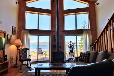 Central Bras D'or  Chalet - Your own Sand Beach