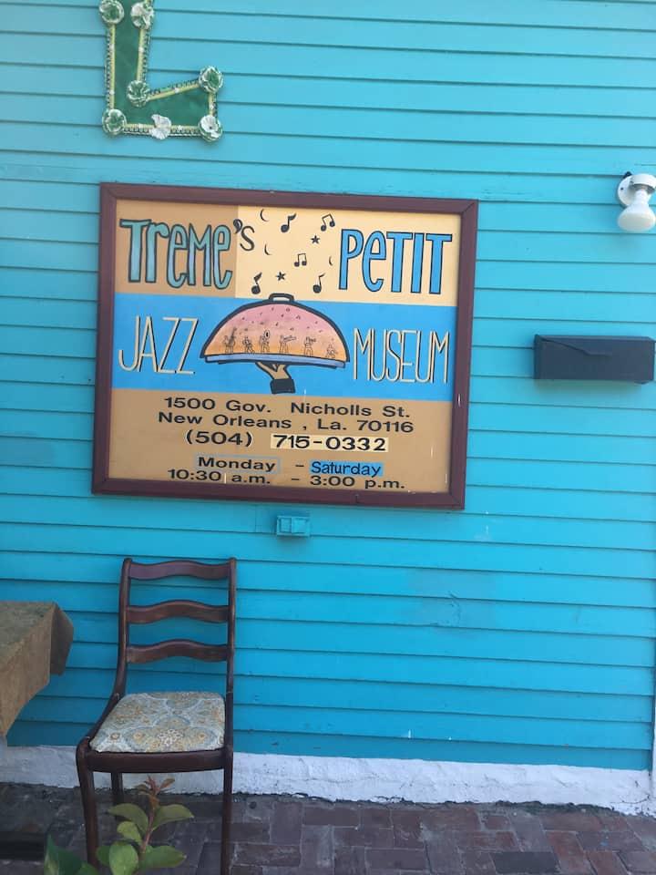Treme Petit Jazz Museum