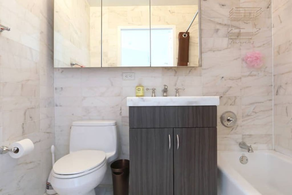 The bathroom you would share