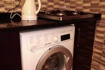 you can use the washing machine