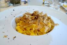 Truffle pasta ( October )