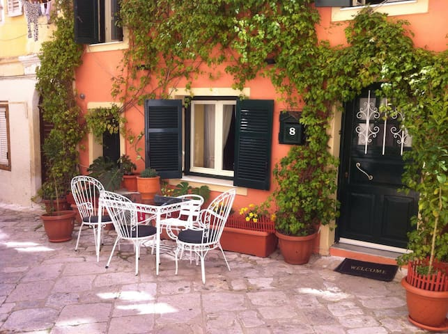Private House in the heart of Corfu old town.