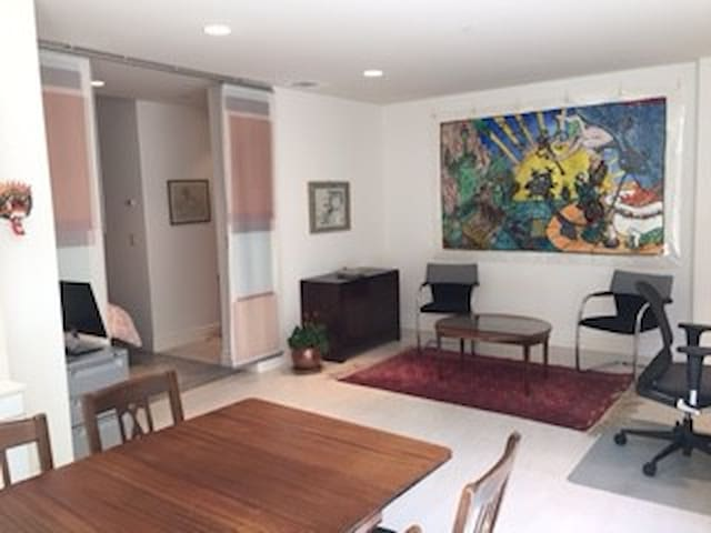 Spacious suite - 1 blk University Ave; own entry - Palo Alto - Dům