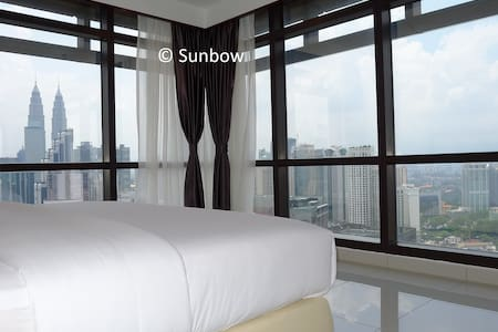 Enjoy KLCC view when you sleep / wake up