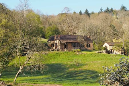 Picaresque hillside farmhouse