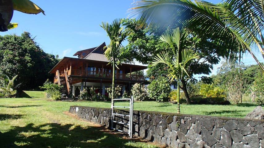 Hawaii Hilo Bamboo Getaway Keaukaha - Hilo - Ház