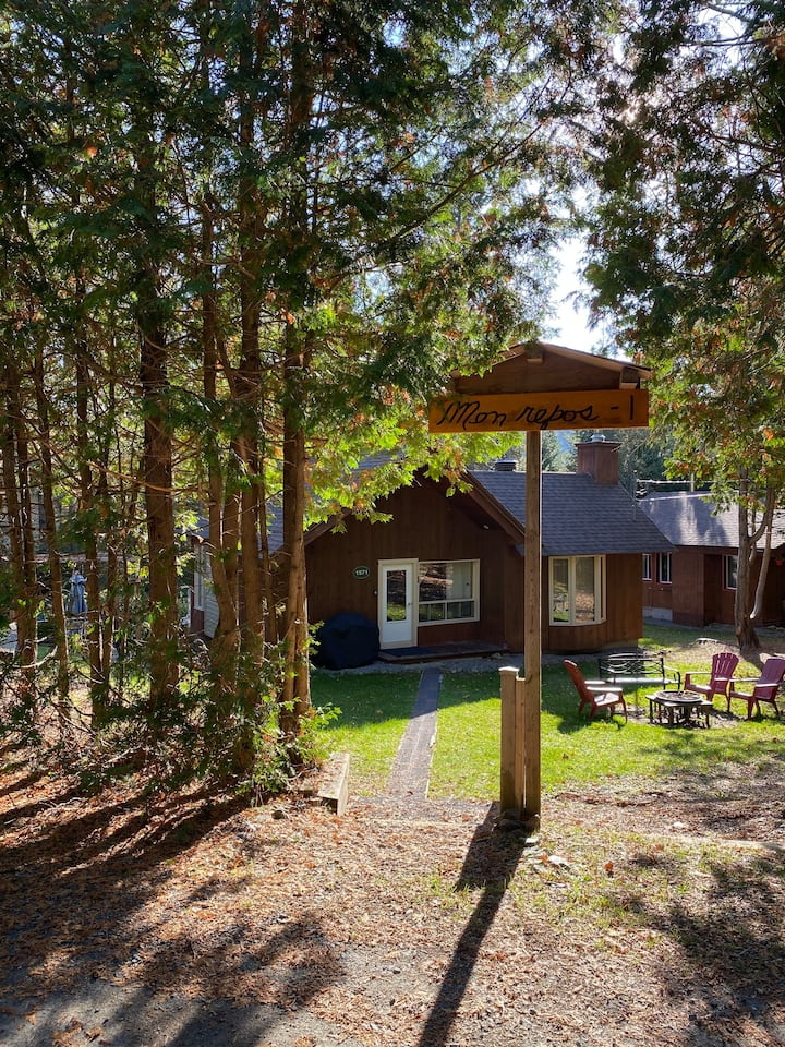 Charming chalet with fireplace in the Laurentides